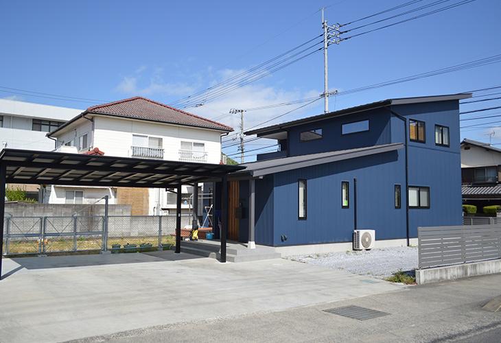 パッシブで開放的リビングの家